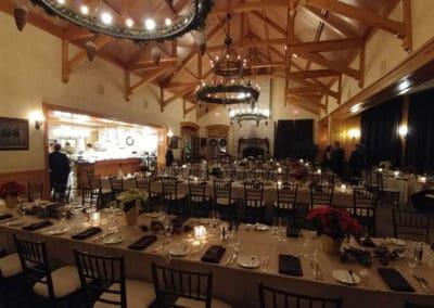 Dinning room at the Magna Golf Club - Aurora