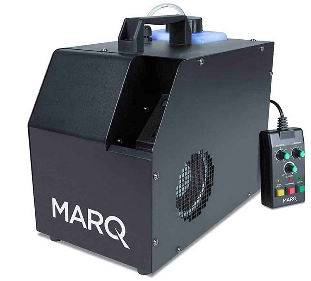 A Marq smoke/fog machine can be added to our DJ service