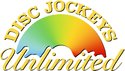 Disc Jockeys Unlimited DJ Services Logo